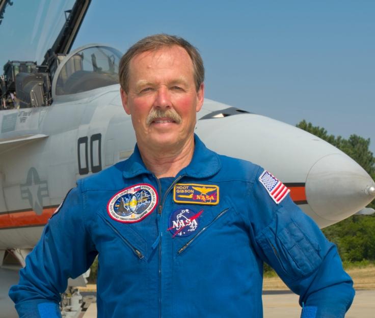 """Capt. Robert """"Hoot"""" Gibson"""